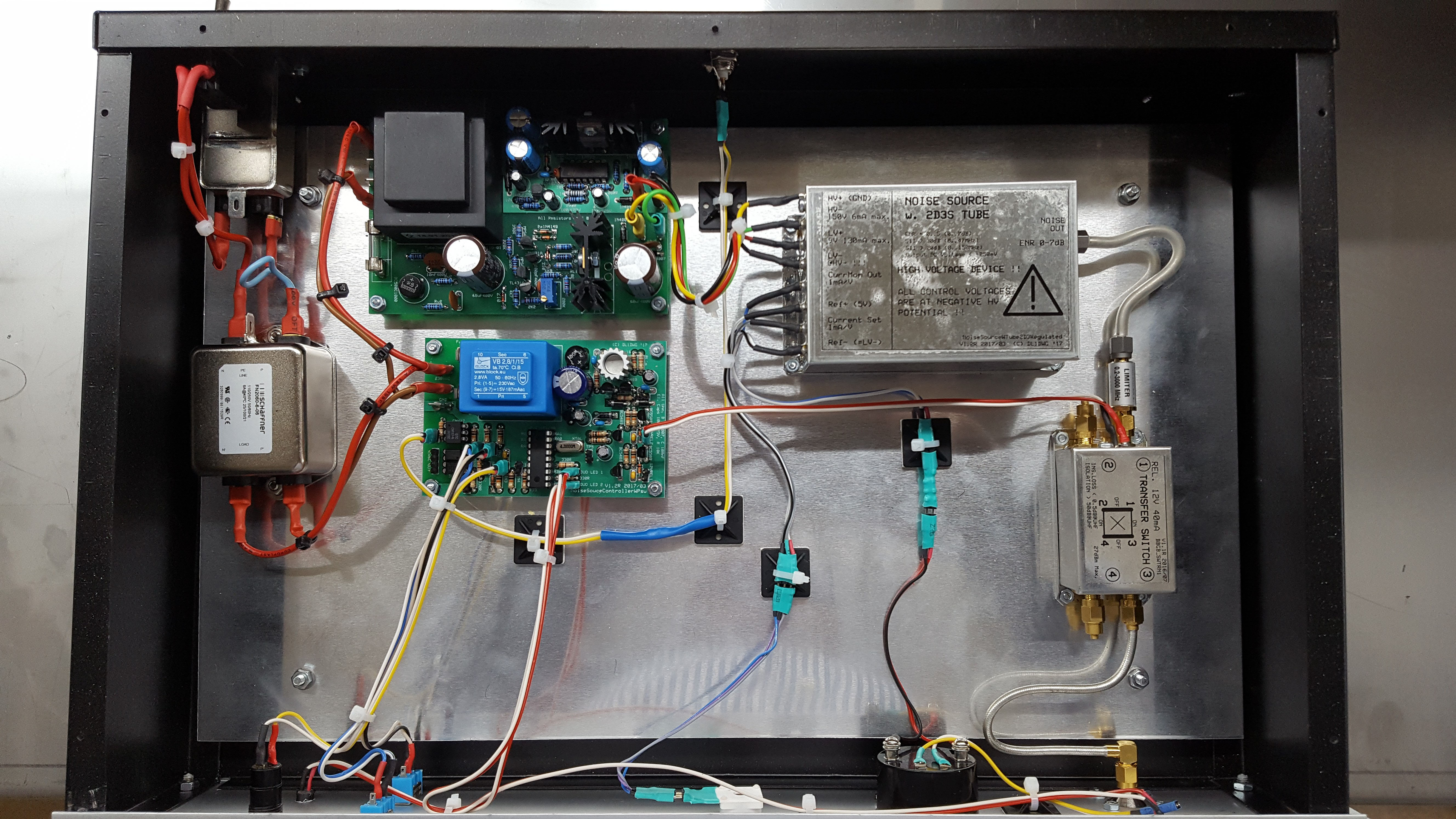 A Tube Noise Source using the 2D3B Tube – Electronic
