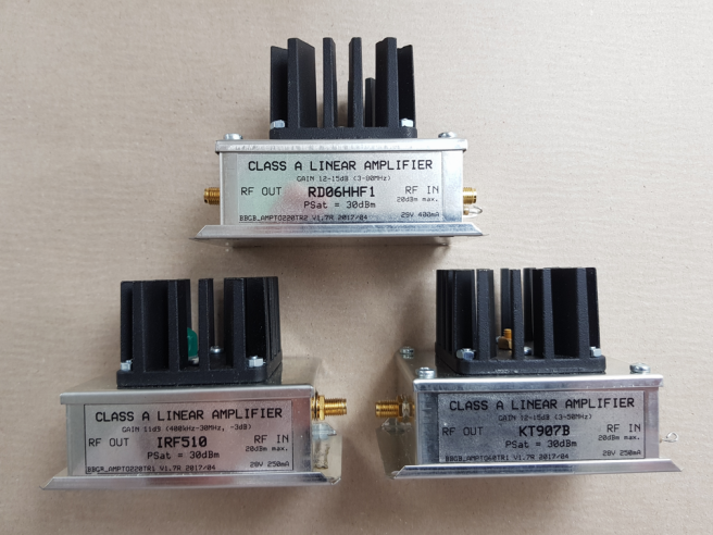 Medium Power HF Amplifiers – Electronic Projects for Fun
