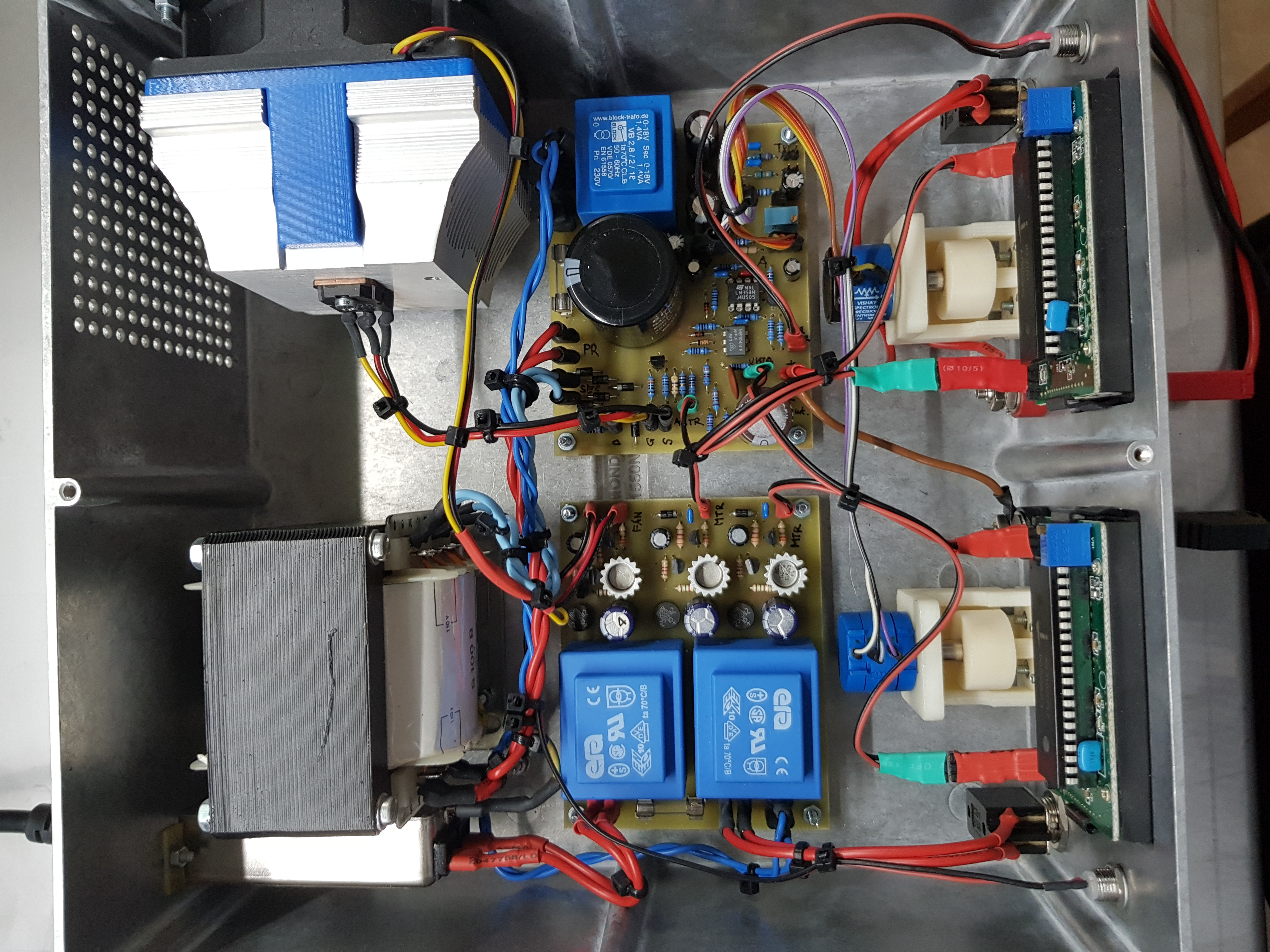 A 250v 150ma Variable Linear Power Supply Electronic Projects For Fun Transistor Regulator Circuit Can Adjustable Output Voltage At The Top Left We Have Cpu Cooler With An Insulated Fan Pass Then Board Its Own 15v Regulated