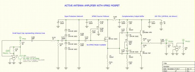 A High-IMD Active Antenna Using a High-Current RF MOSFET