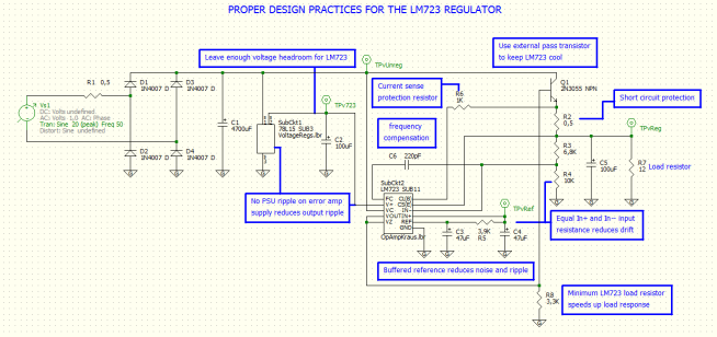ProperDesignPracticesForTheLM723Regulator
