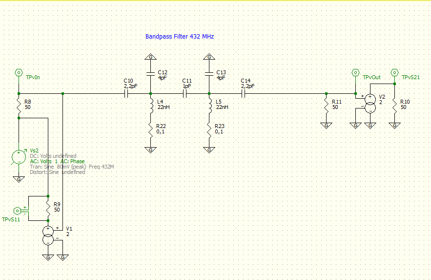 a 70cm bandpass filter \u2013 electronic projects for fun band pass filter audio filter circuit audio circuits